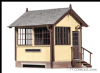 Peco LK-709 0G Ground Signal Box, Wood